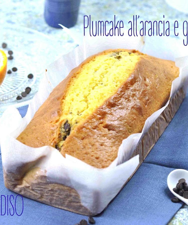 PLUMCAKE ARANCIA CIOCOO