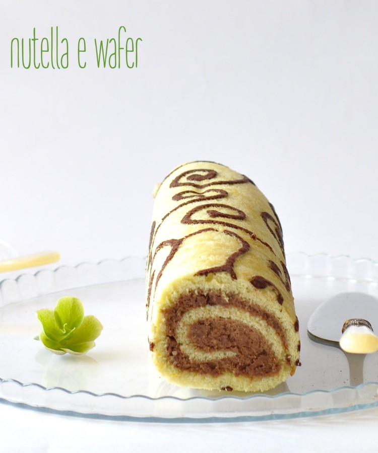 SWISS ROLL NUTELLA WAFER