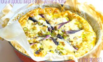 Torta ai cipollotti bianchi e viola e puzzone di Moena2
