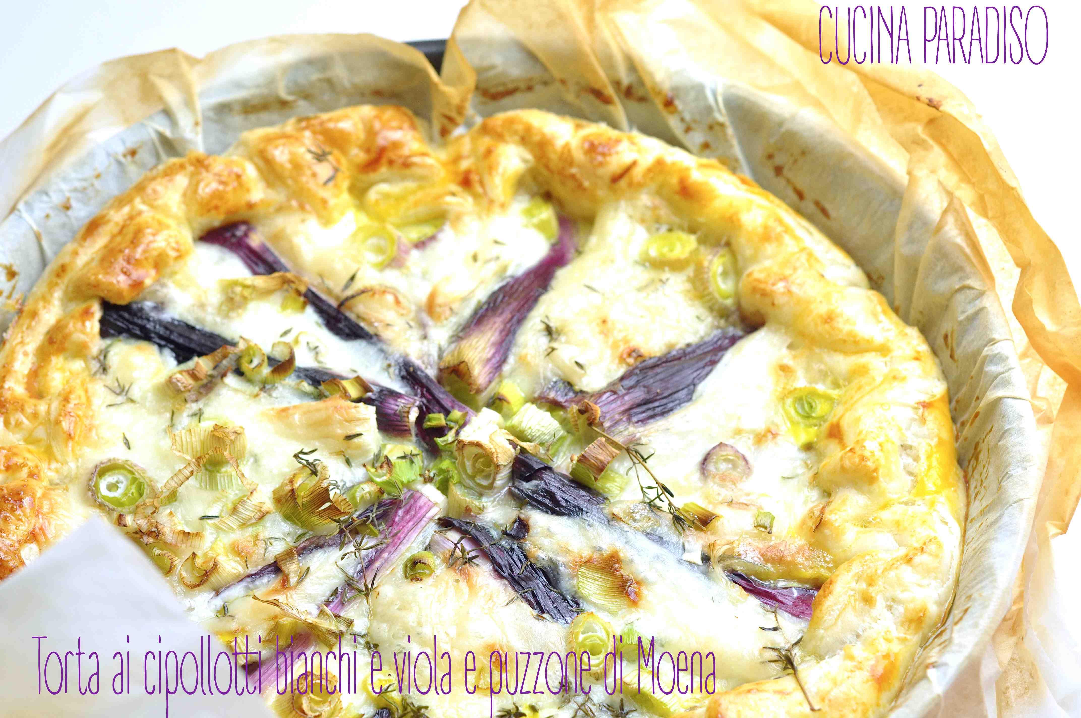 Torta ai cipollotti bianchi e viola e puzzone di Moena3