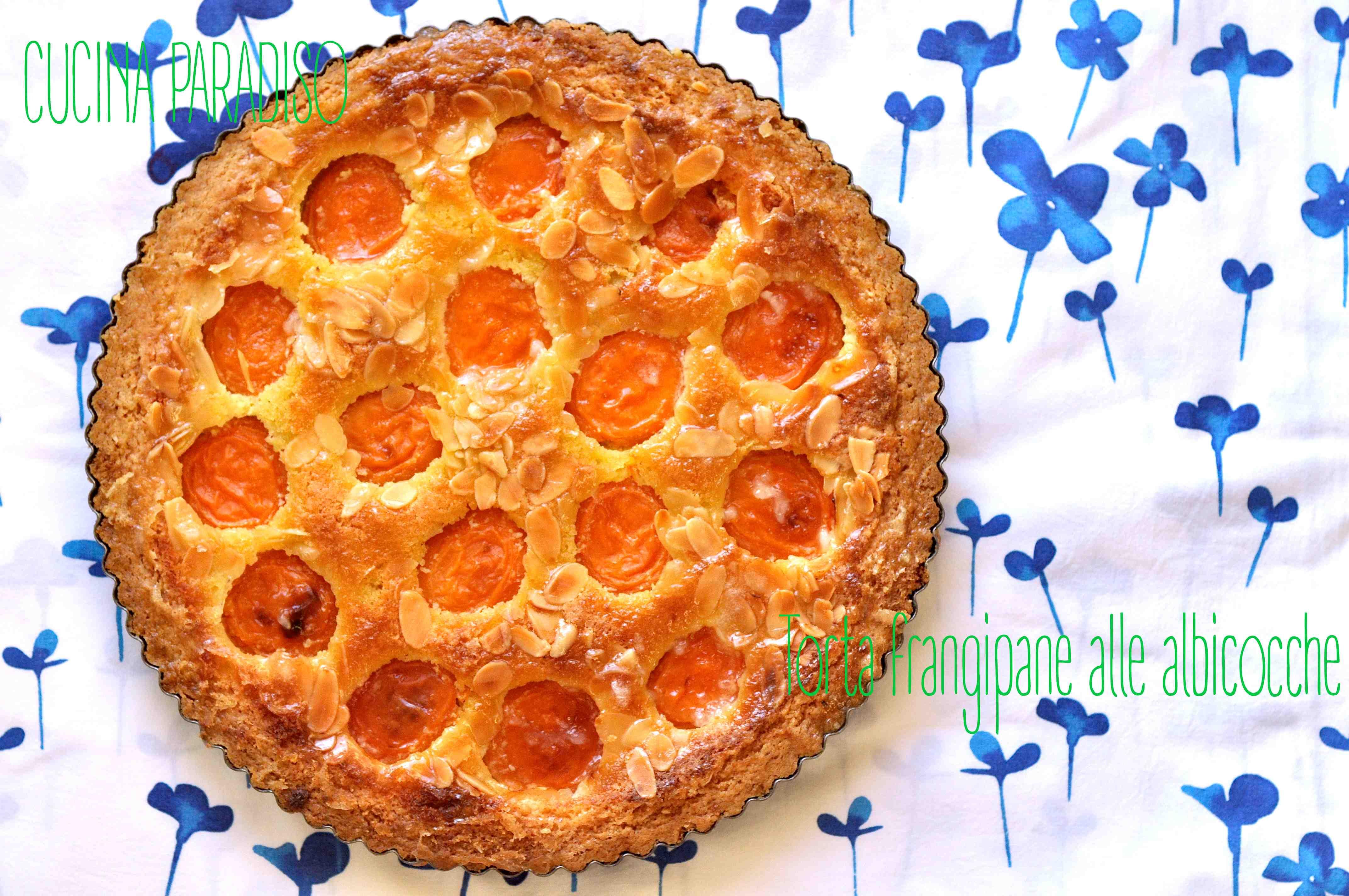 Torta frangipane alle albicocche