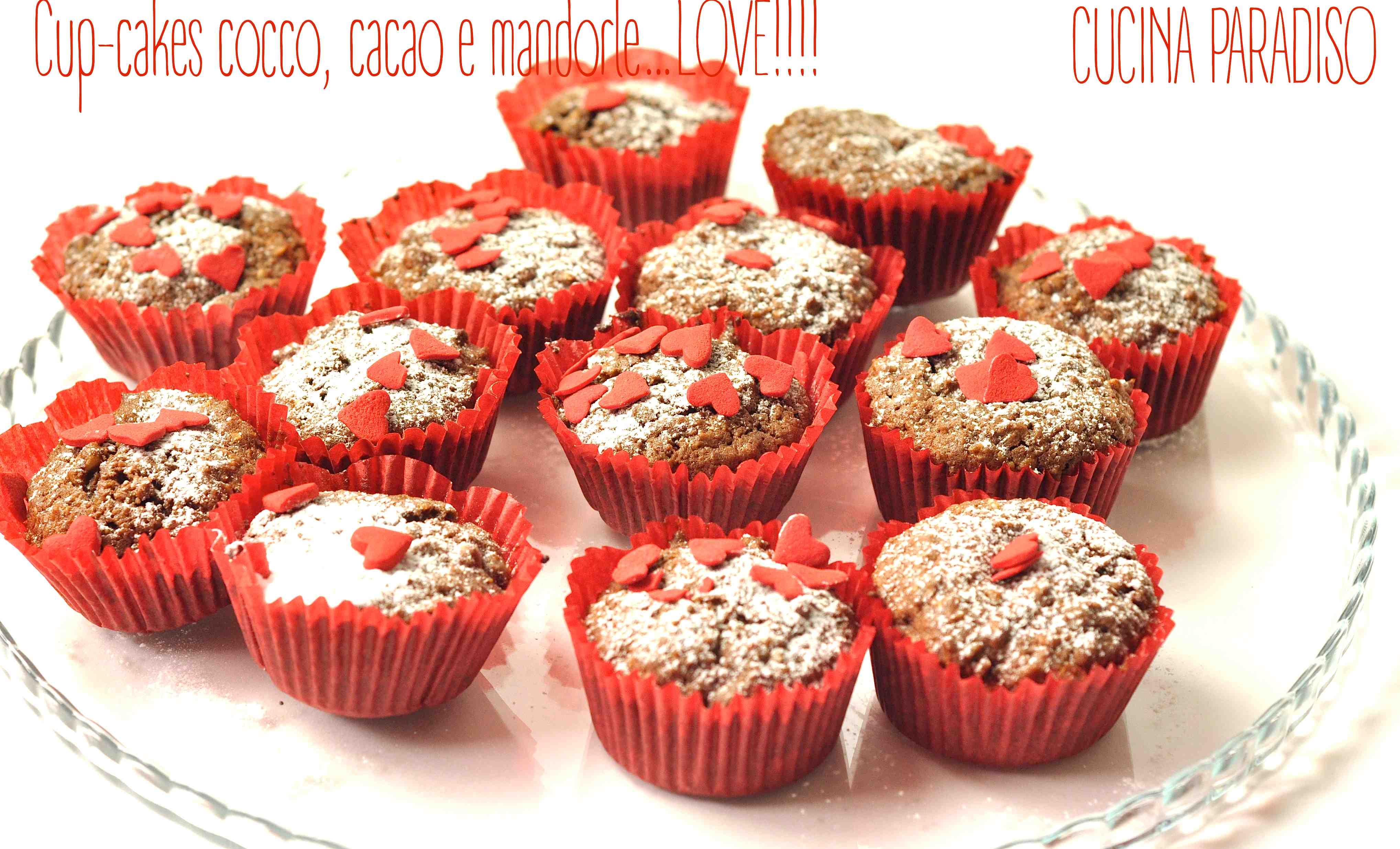 cupcake cocco cacao mandorle5