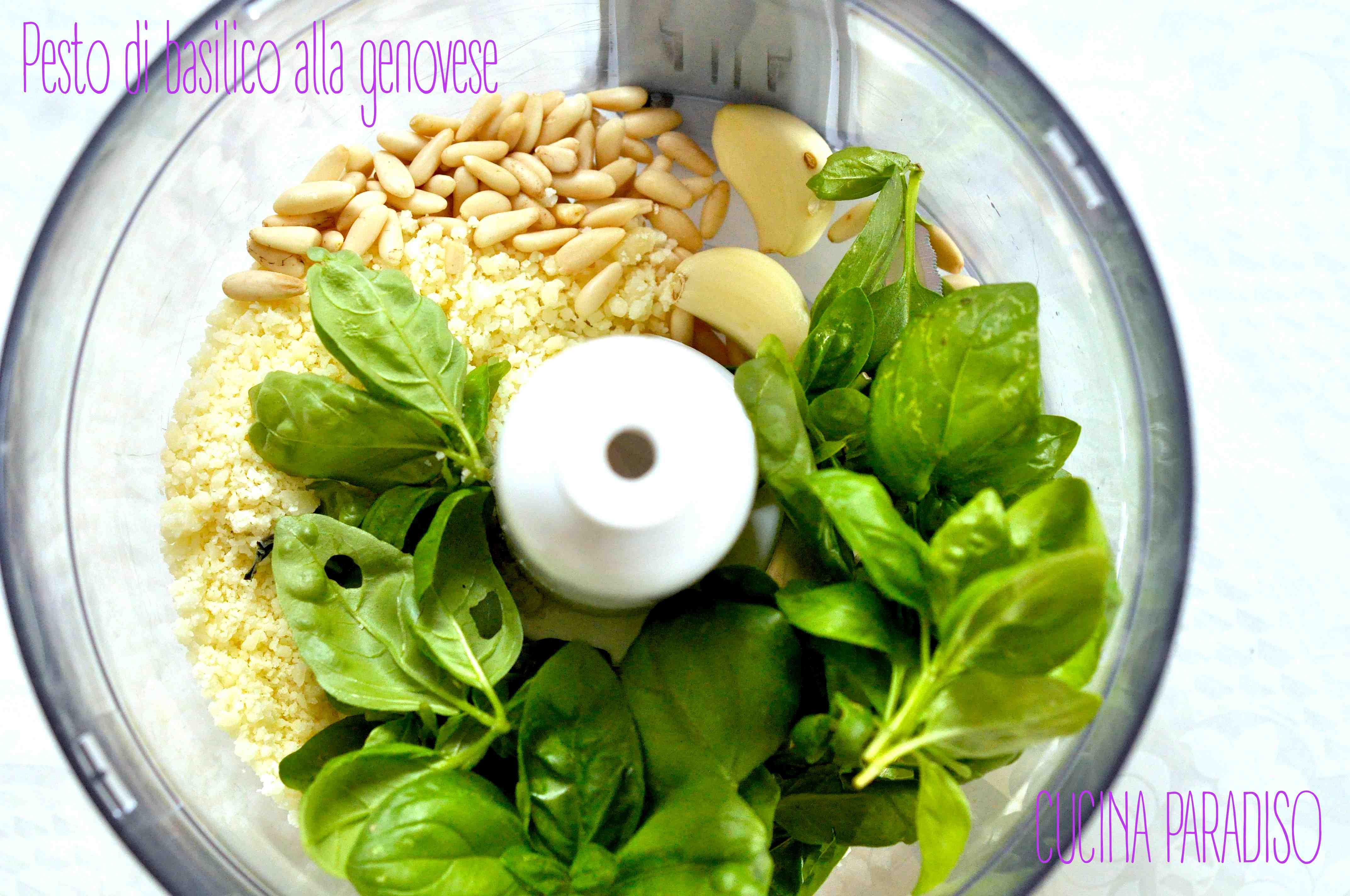 Pesto di basilico alla genovese
