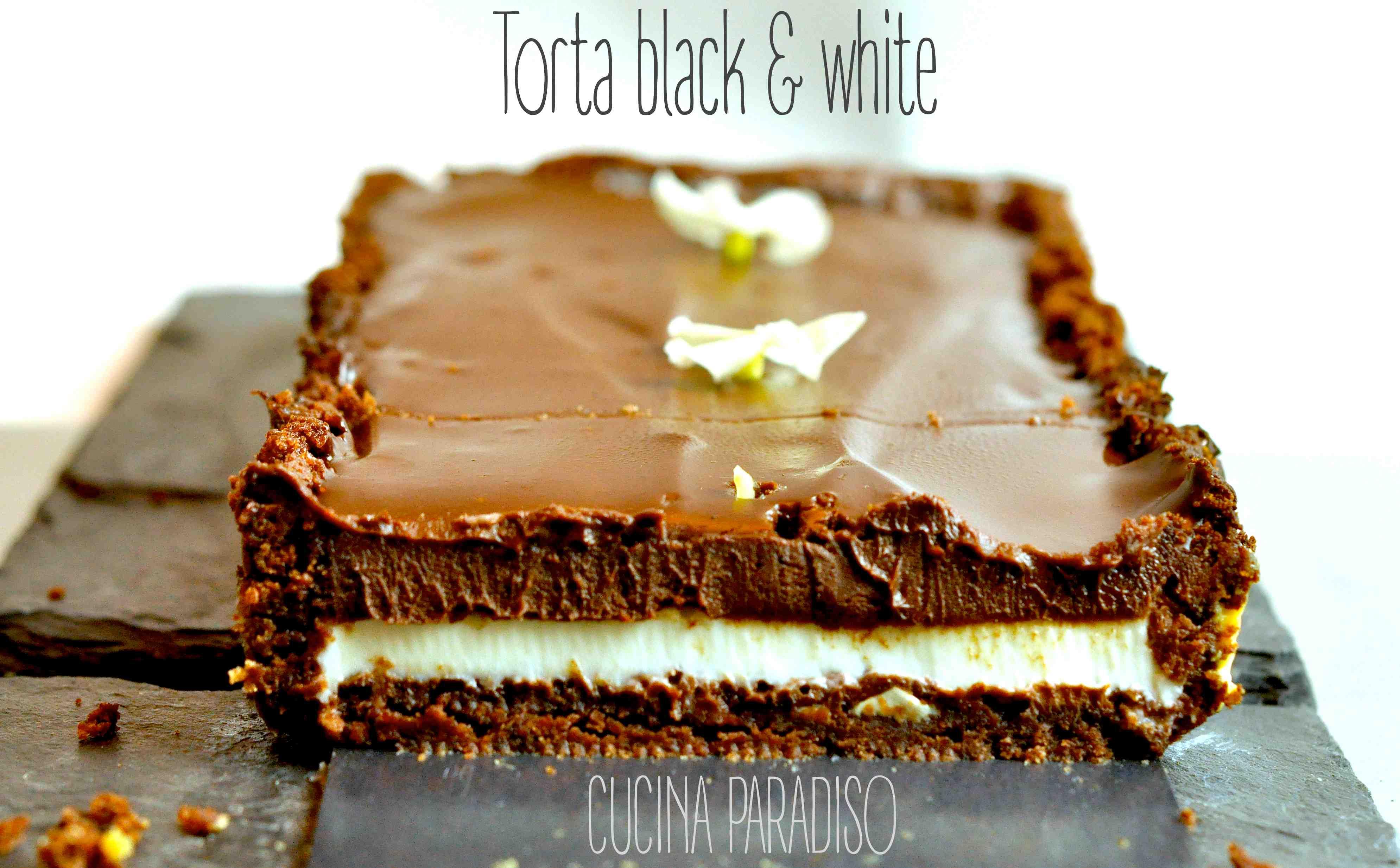 Torta black & white3