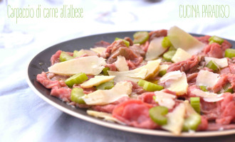 CARPACCIO DI CARNE ALL'ALBESE