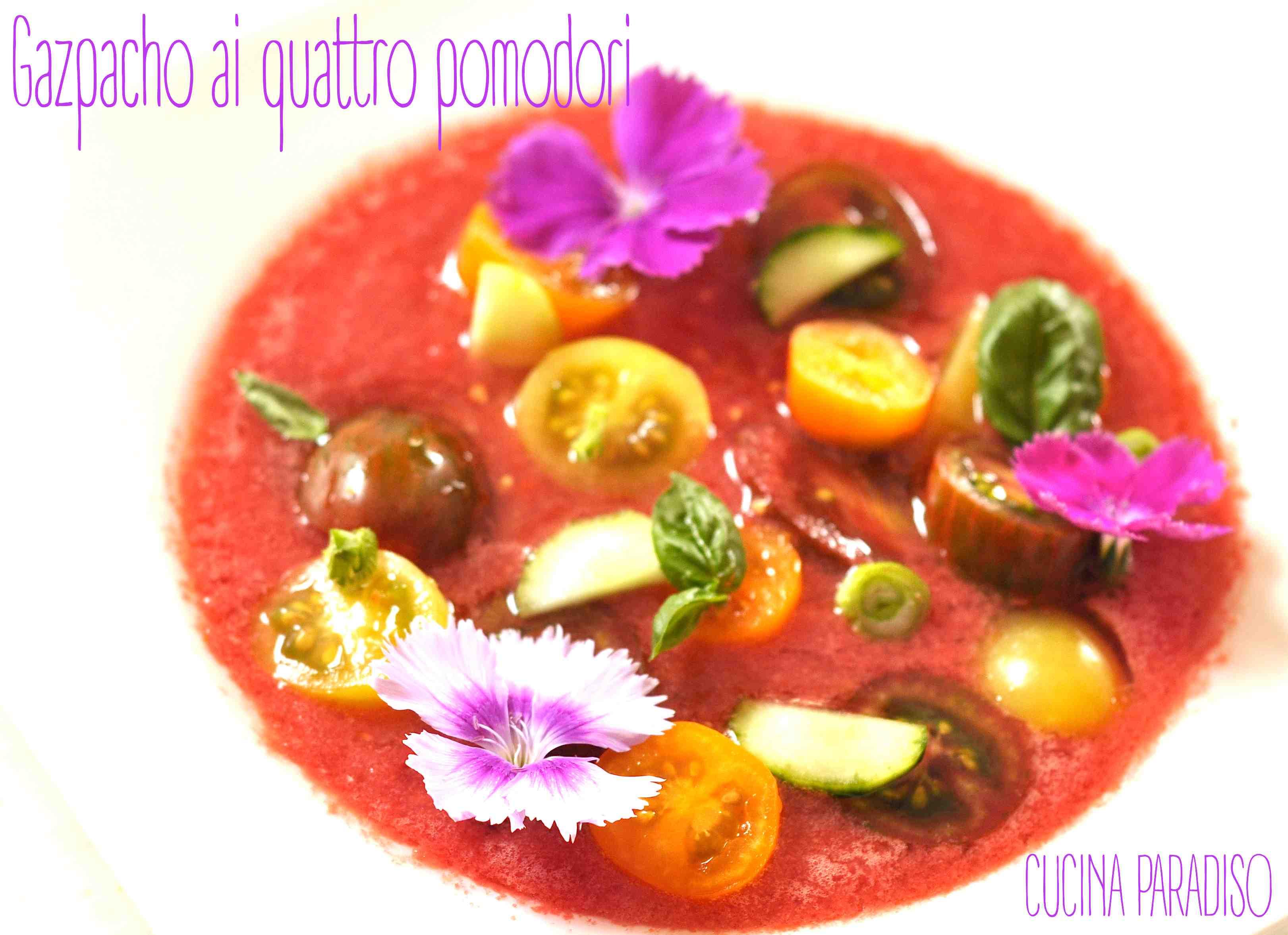 Gazpacho ai quattro pomodori 3