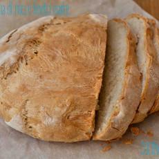 Pane con farina di riso e lievito madre2