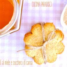 Biscotti integrali al miele e zucchero di canna2