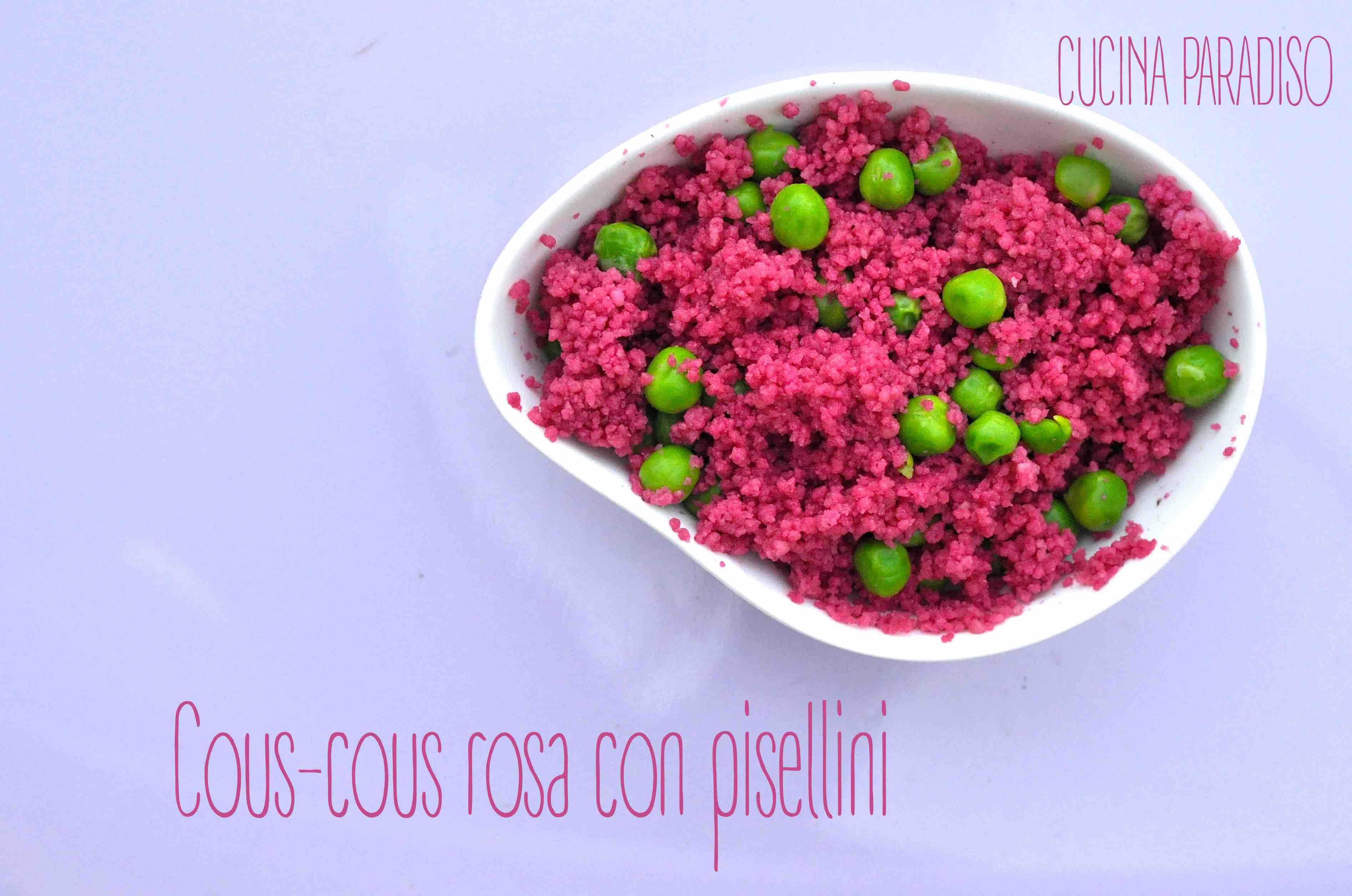 Cous-cous rosa con pisellini2