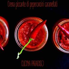 Crema piccante di peperoncini caramellati