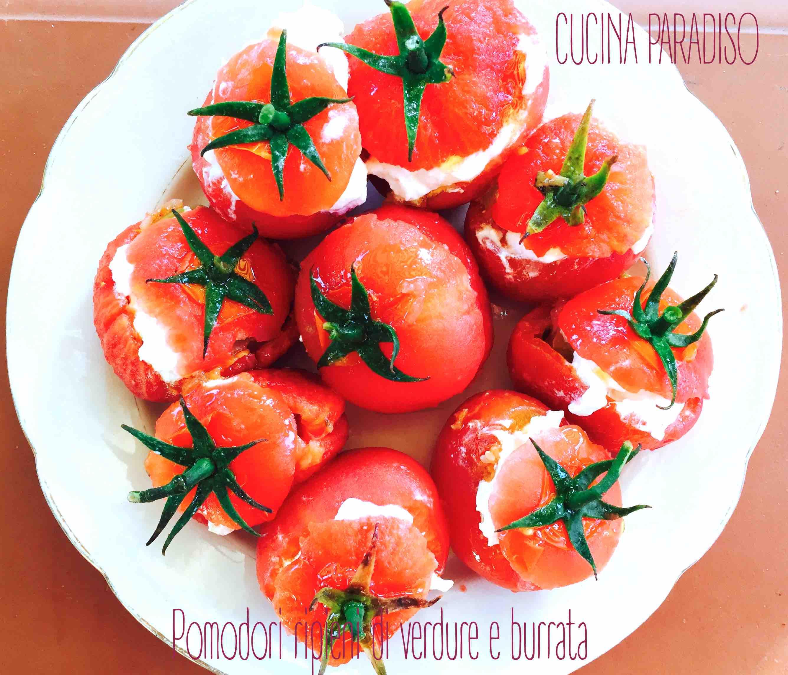 Pomodori ripieni di verdure e burrata2