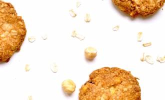 Biscotti integrali all'avena, miele e nocciole2