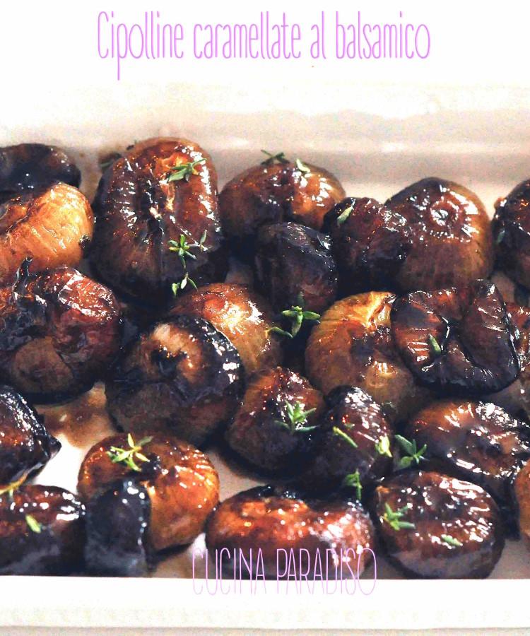 Cipolline caramellate al balsamico