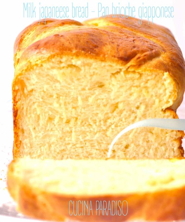 Milk japaneese bread- Pan brioche giapponese2