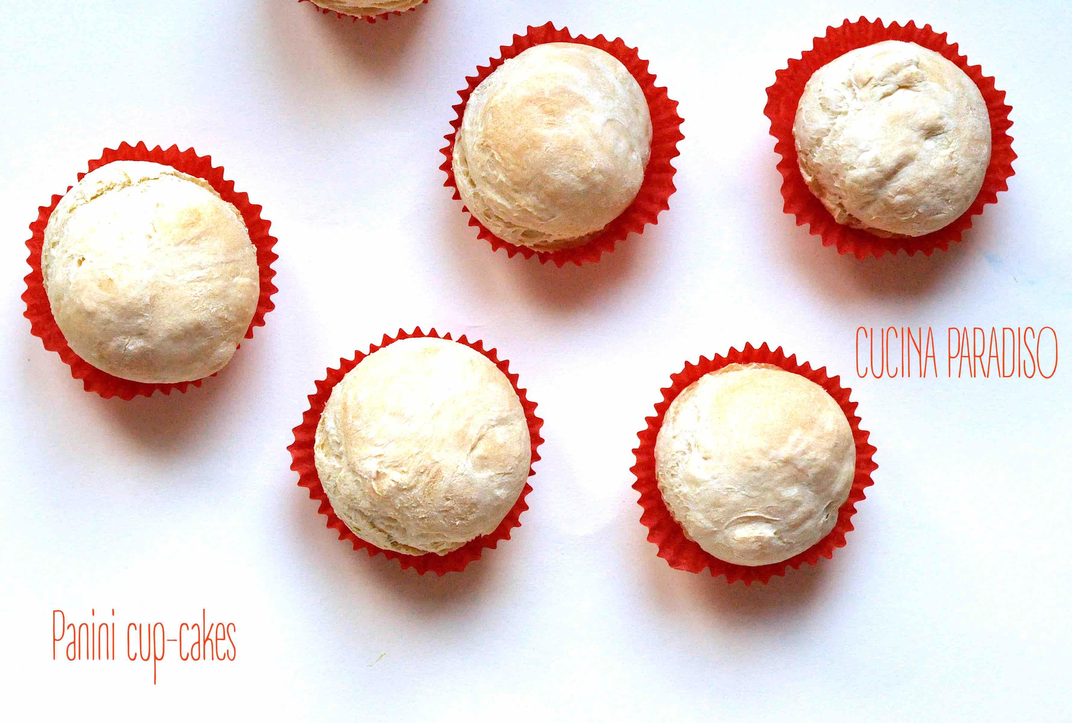 Panini cup-cakes