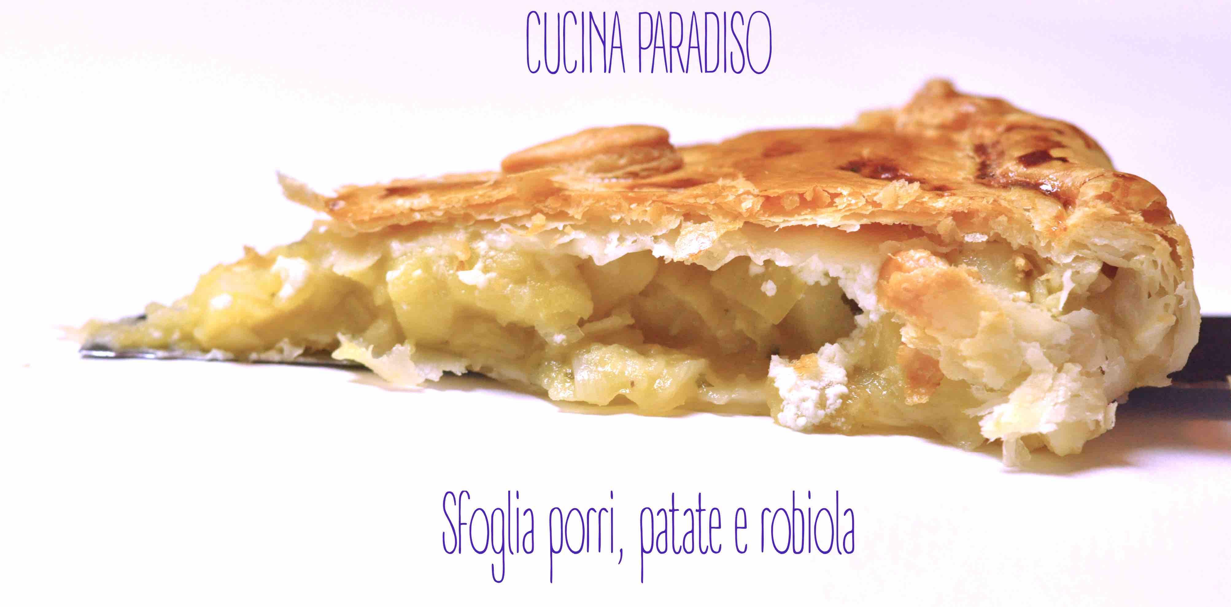 Sfoglia porri, patate e robiola5