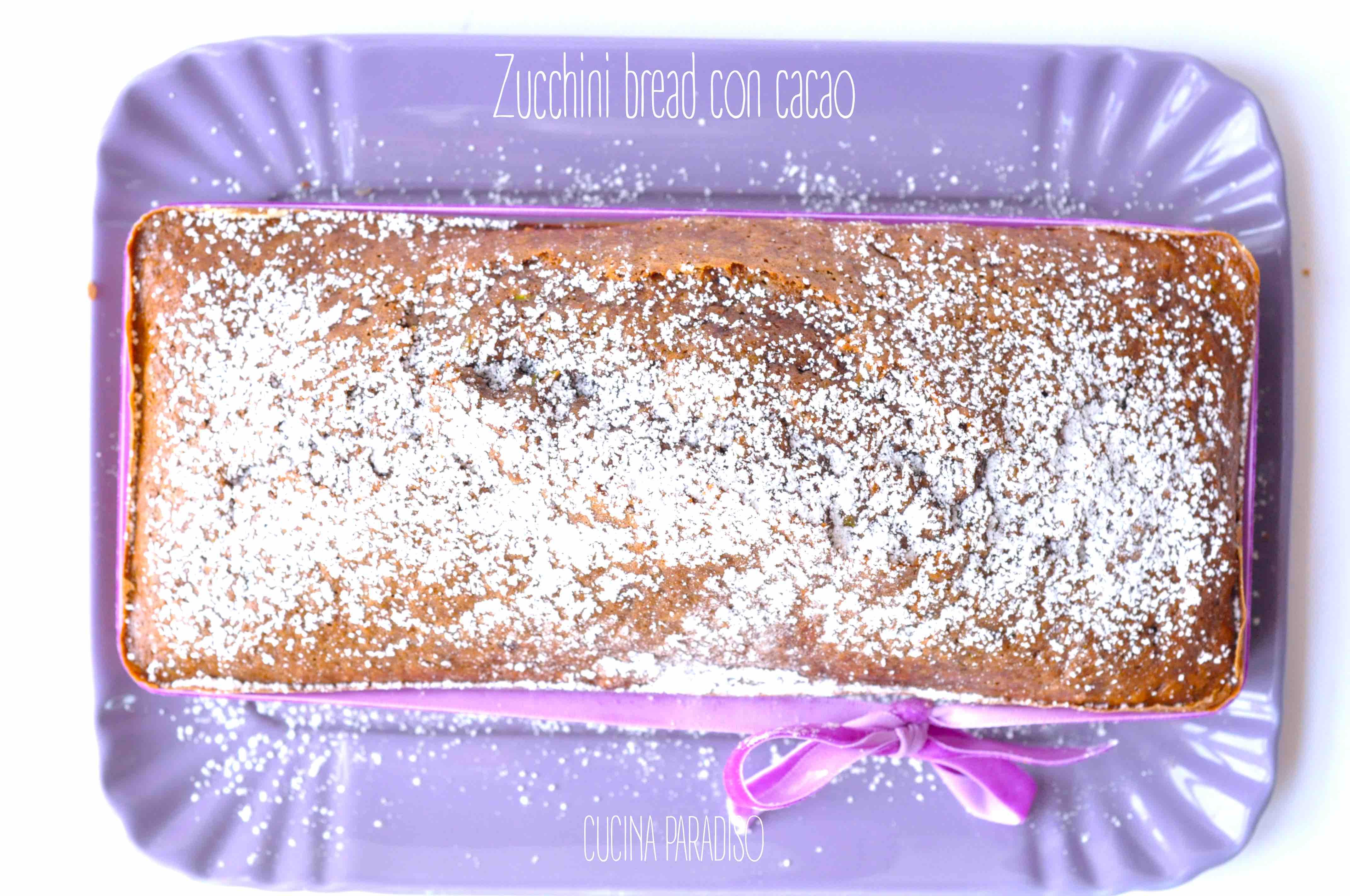 Zucchini bread con cacao2