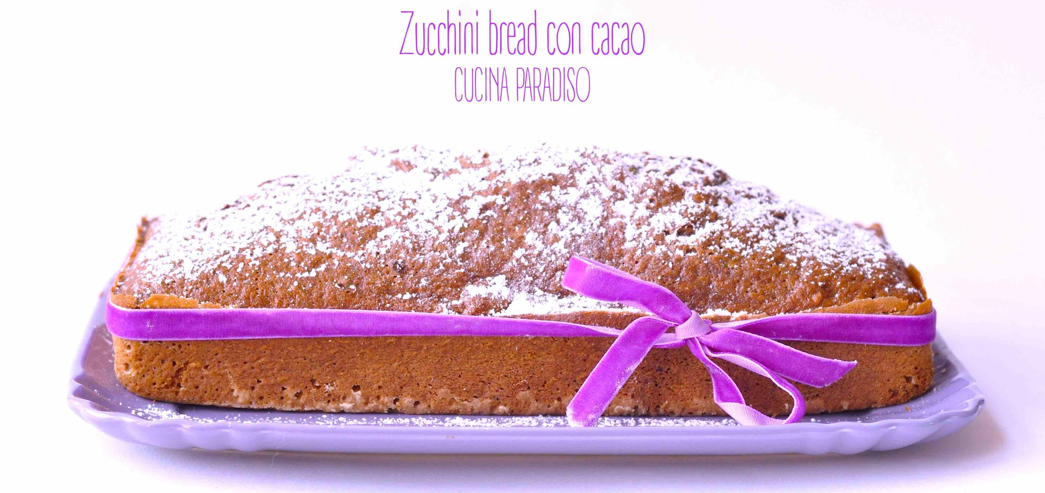 Zucchini bread con cacao3