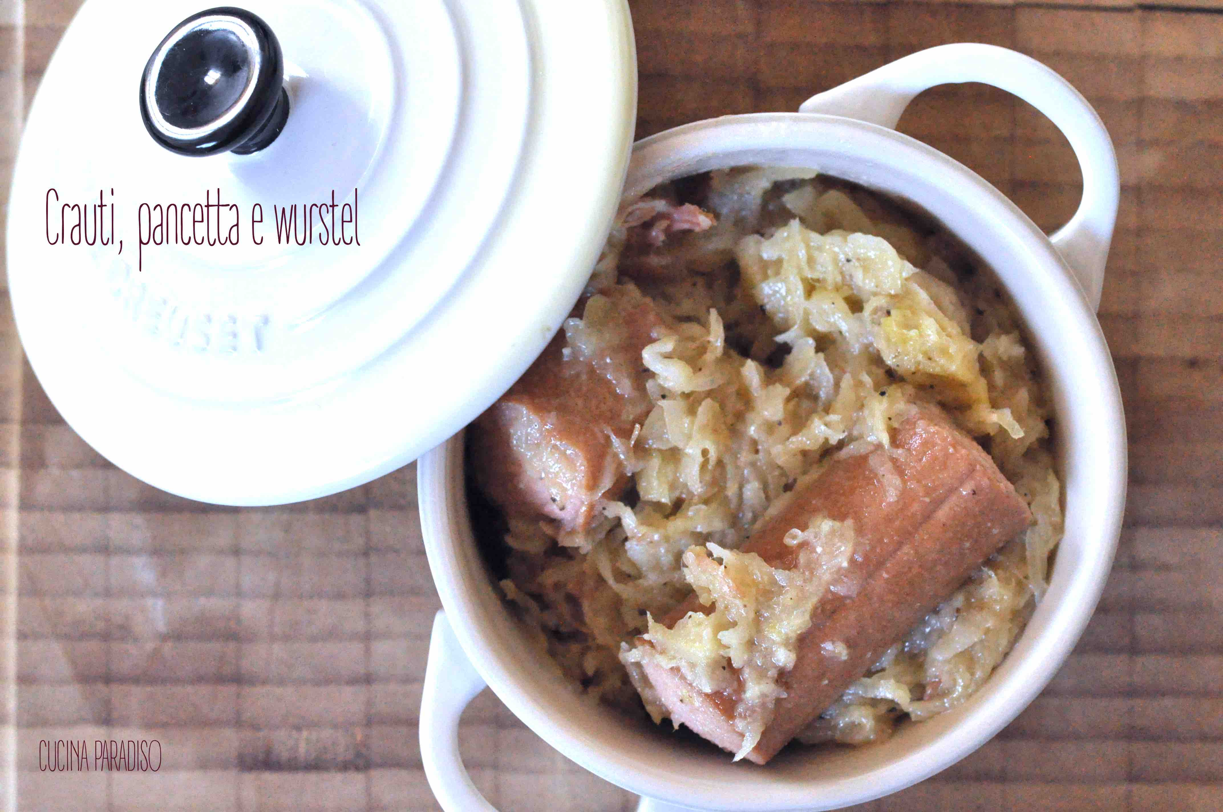 Crauti, pancetta e wurstel