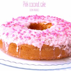 Pink coconut cake2