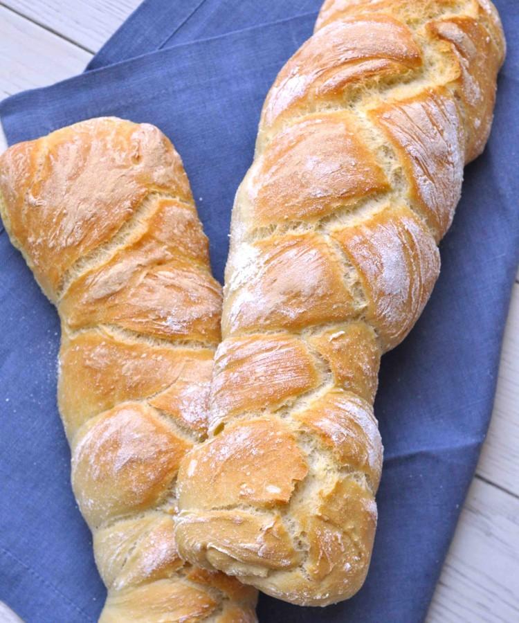 Treccine di pane alla semola e latte2