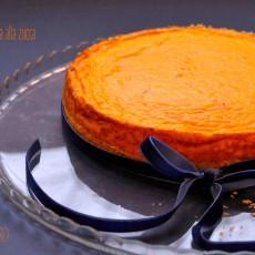 Cheesecake salata alla zucca