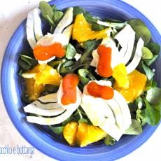 Insalata arancia, finocchio e bottarga2