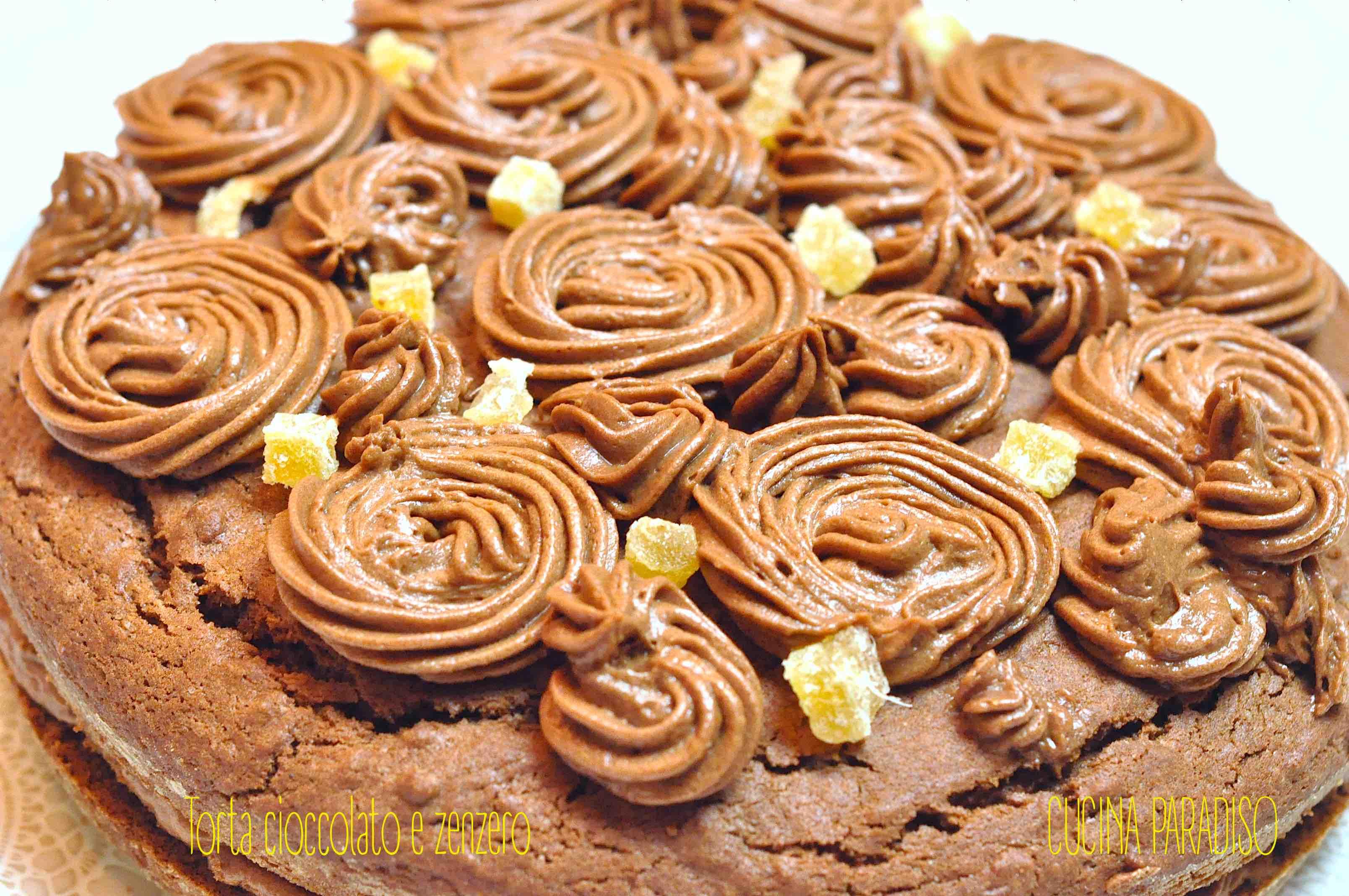 Torta cioccolato e zenzero