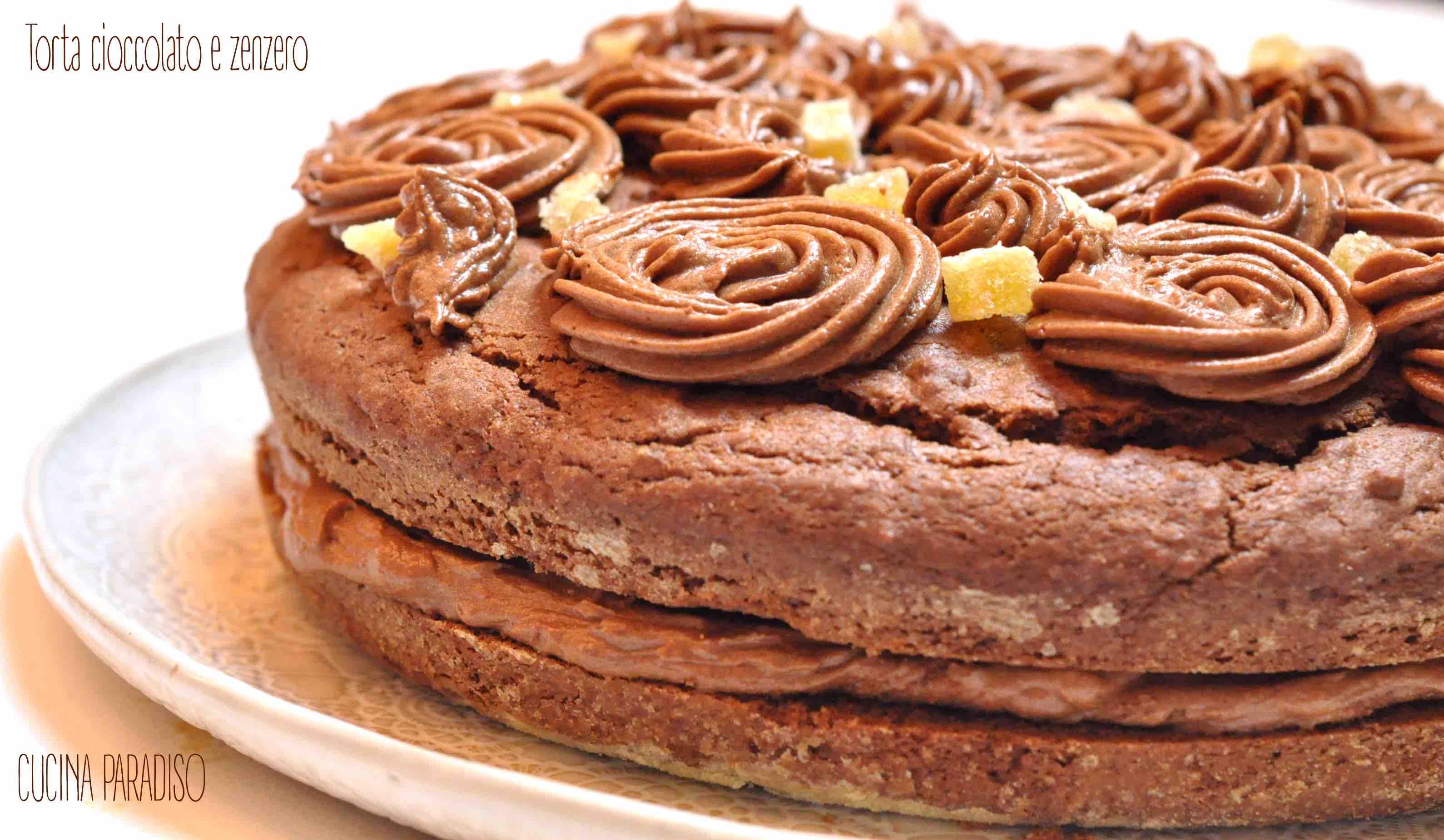 Torta cioccolato e zenzero3