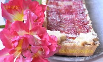 Crostata al rabarbaro e crema pasticcera3