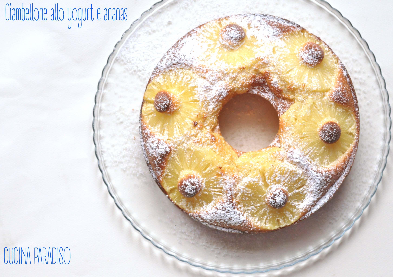 Ciambellone allo yogurt e ananas4