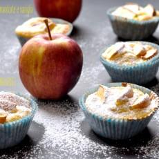 Muffin alle mele fuji, mandorle e vaniglia5