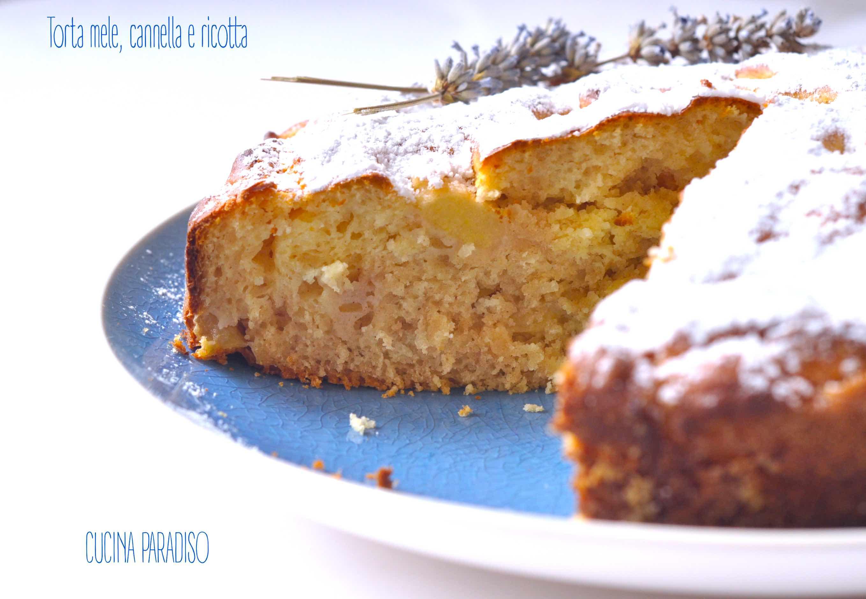 Torta mele, cannella e ricotta4
