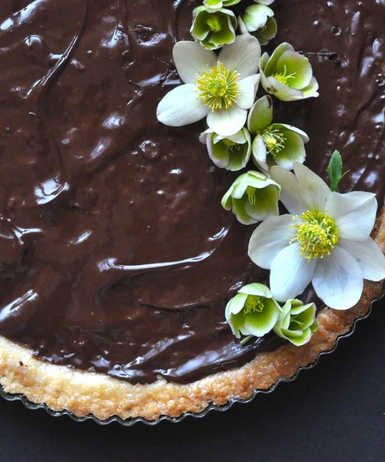 Torta pere e due cioccolati3