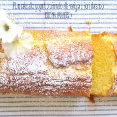 Plum cake allo yogurt profumato alla vaniglia e fiori d'arancio3