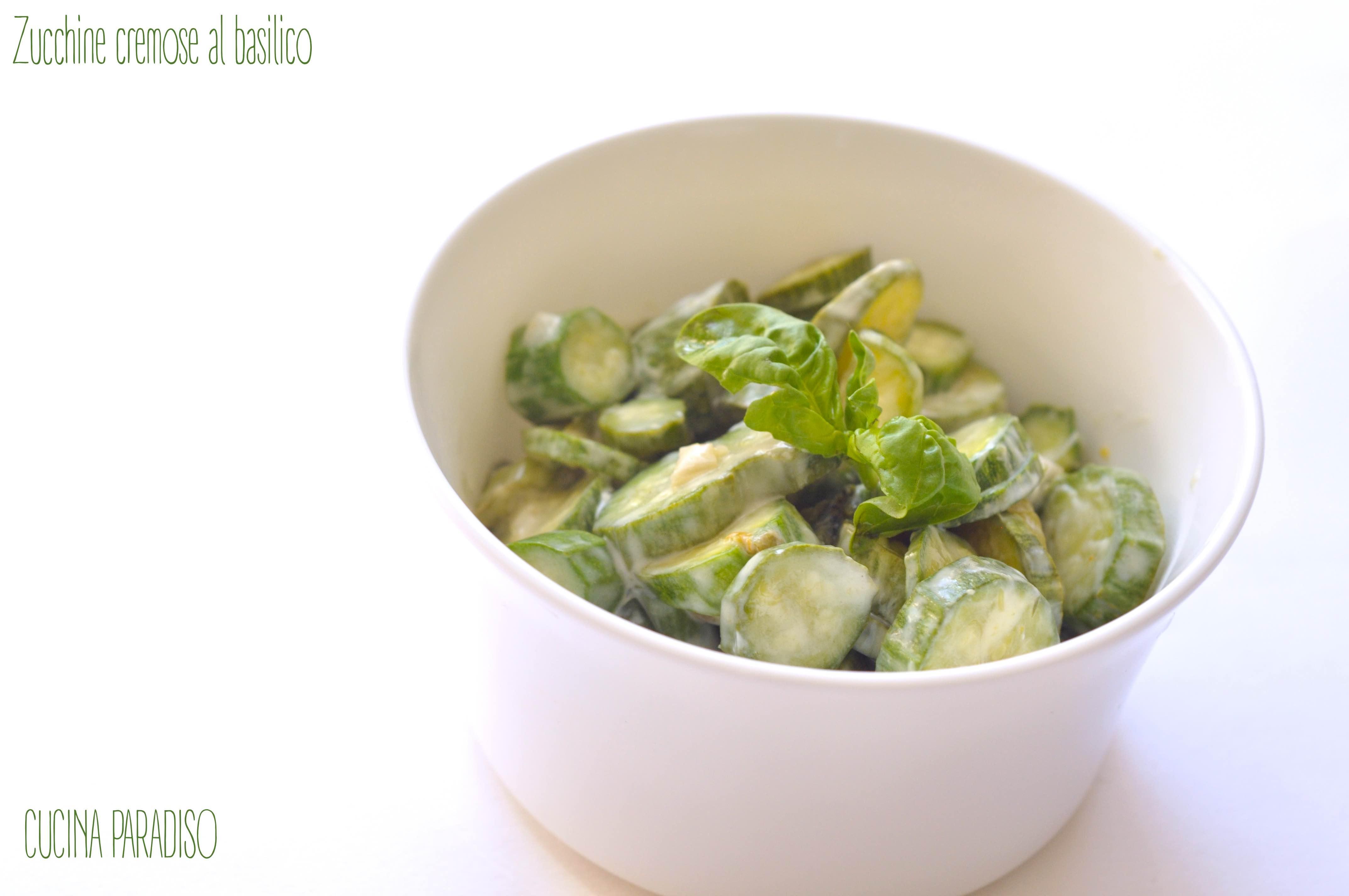 Zucchine cremose al basilico2