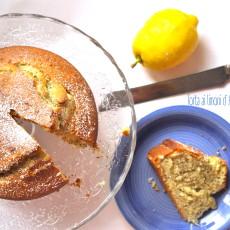 Torta ai limoni d' Amalfi e semi di papavero