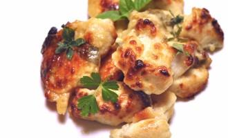 Pepite di pollo agli aromi, yogurt e parmigiano