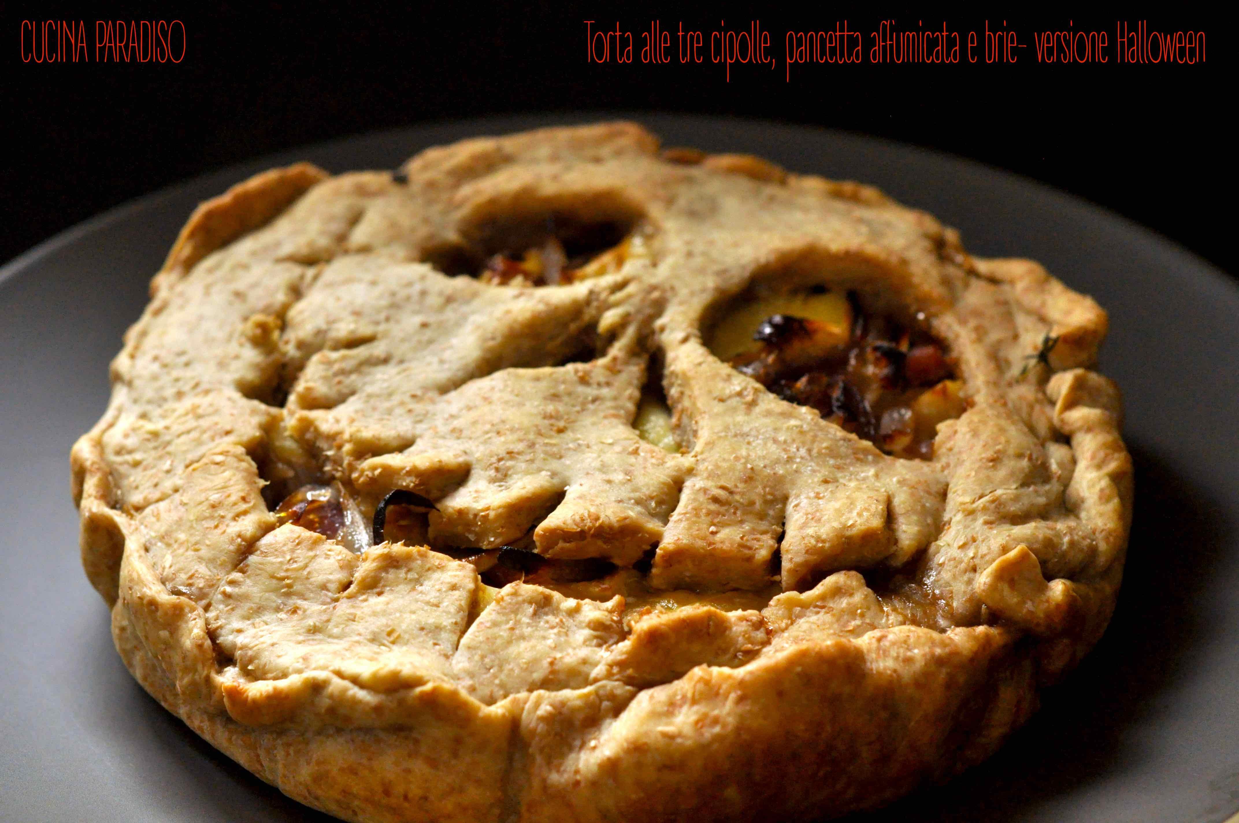 torta-alle-tre-cipolle-pancetta-affumicata-e-brie-versione-halloween