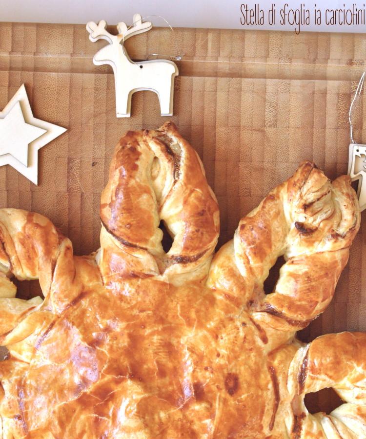 Torta Salata Stella Di Natale.Stella Di Natale Alla Crema Di Carciofini E Mousse Di Prosciutto