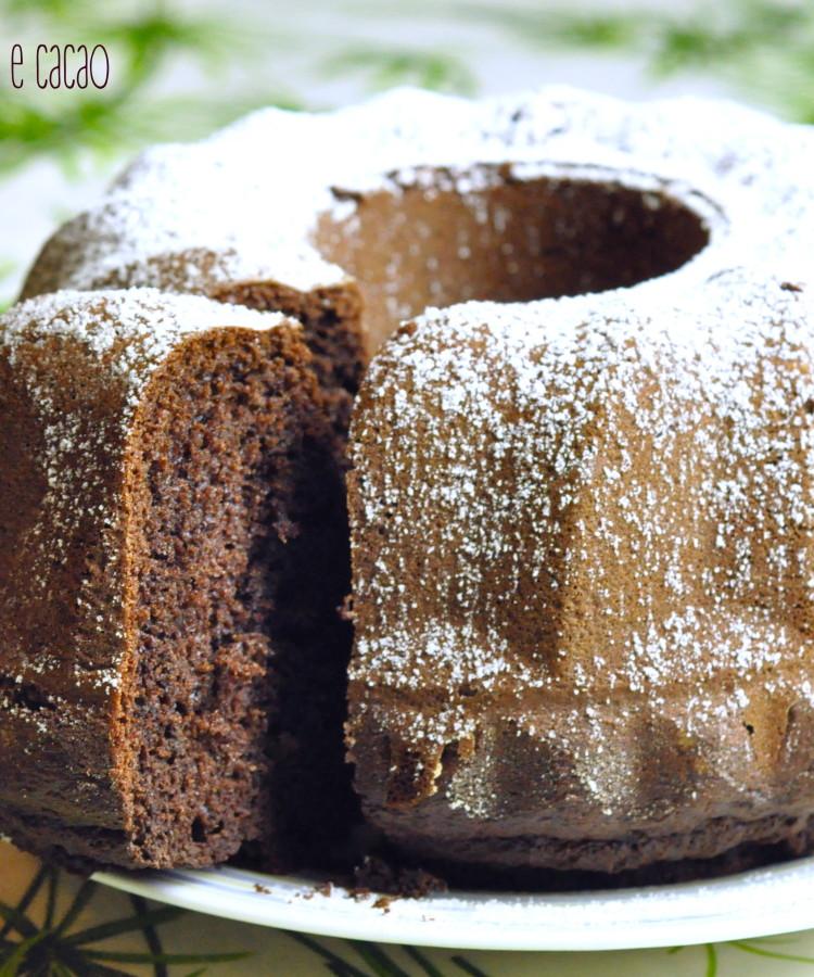 Ciambellone yoguert e cacao2
