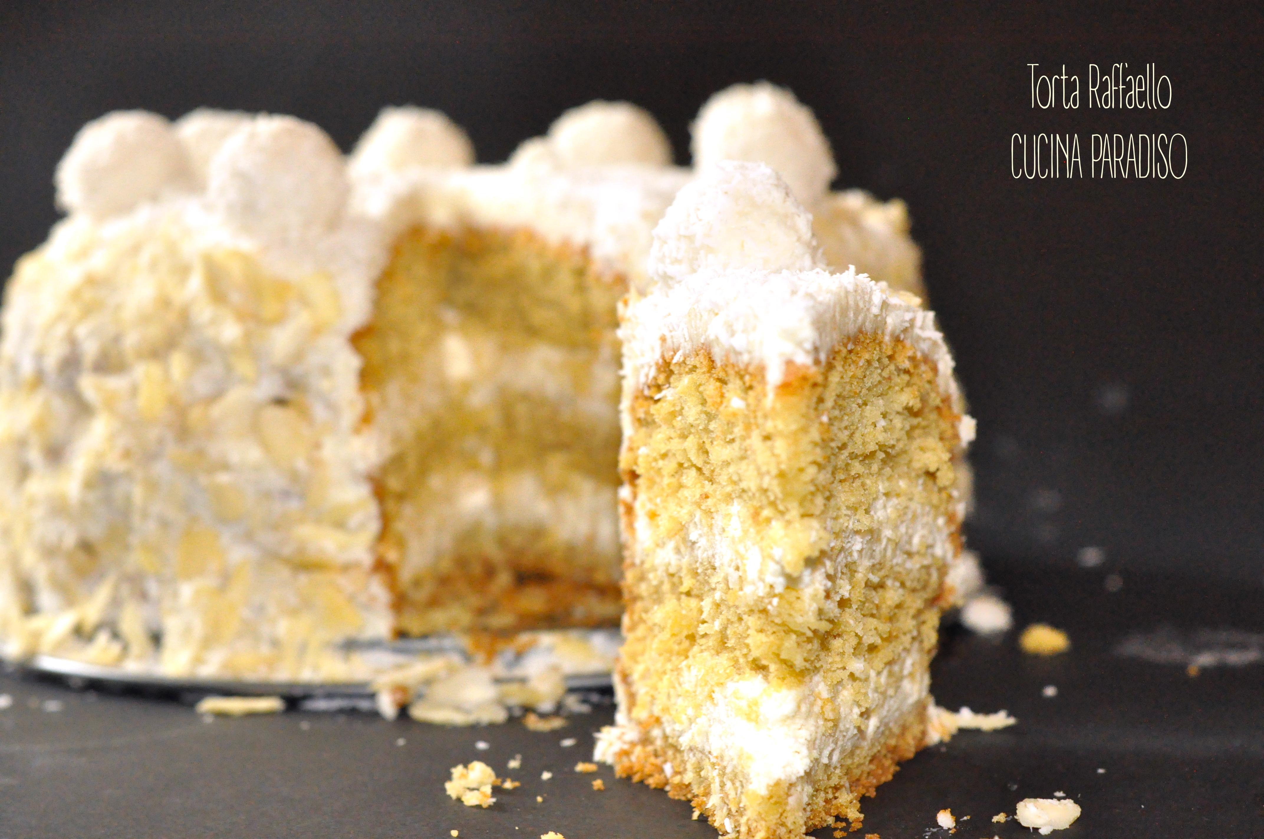 Torta Raffaello3