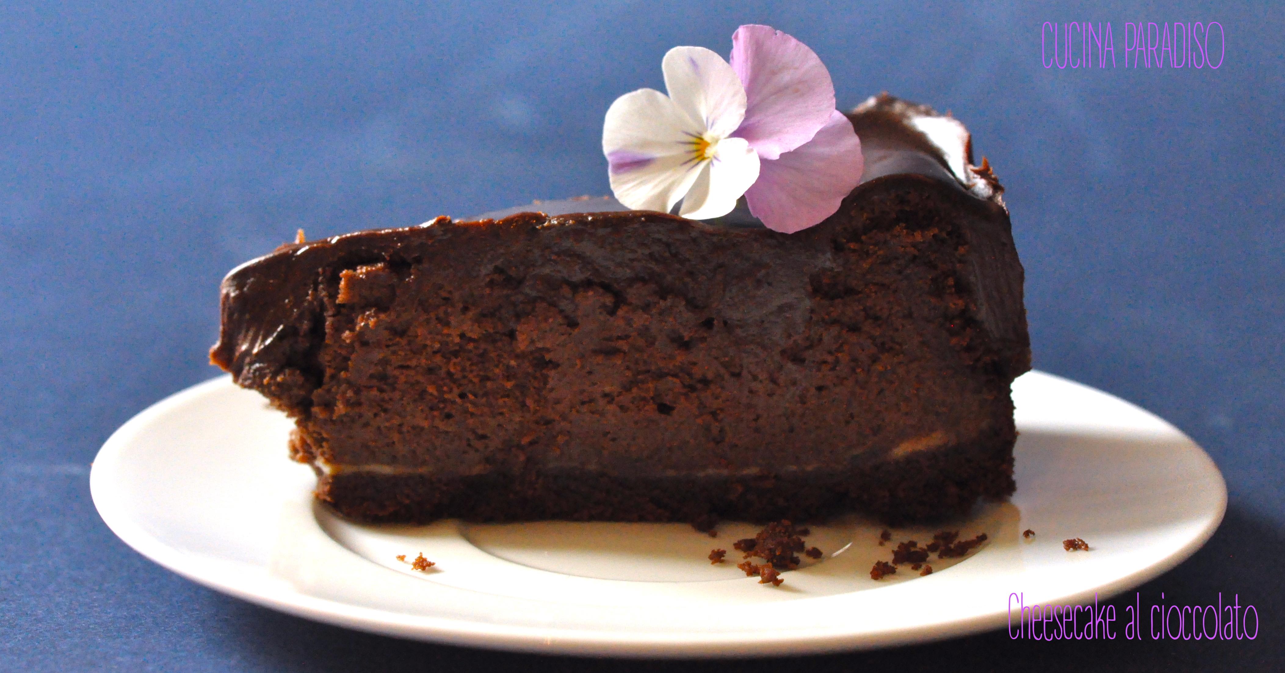 Cheesecake al cioccolato4