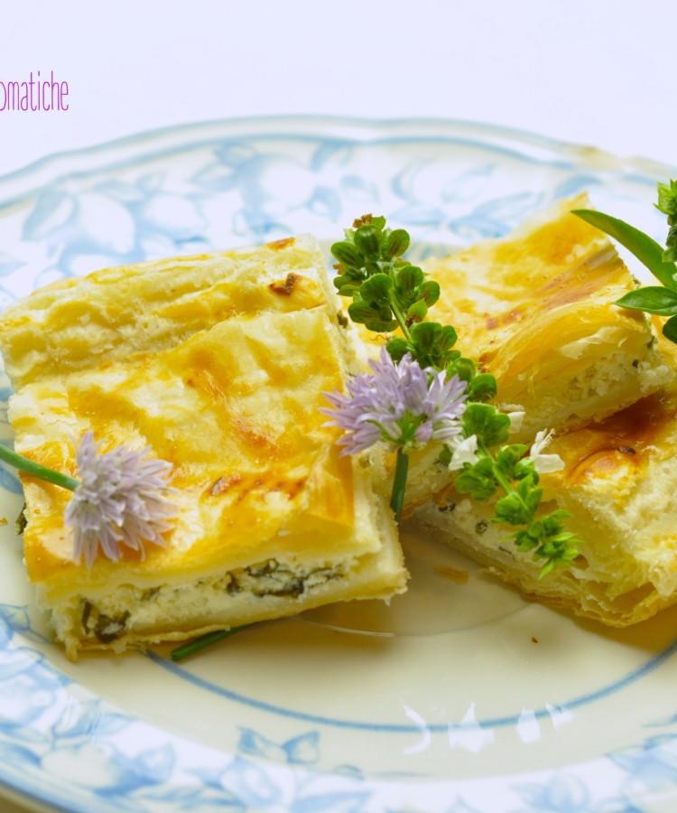 Sfoglia allo yogurt e erbe aromatiche