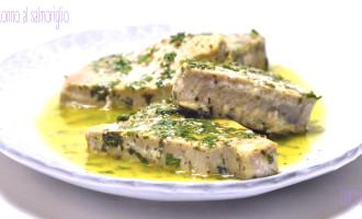 Filetto di tonno al salmoriglio2