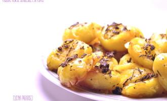 Patatine novelle schiacciate e al forno3