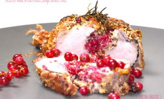 Filetto di maiale al ribes rosso, senape antica e miele2