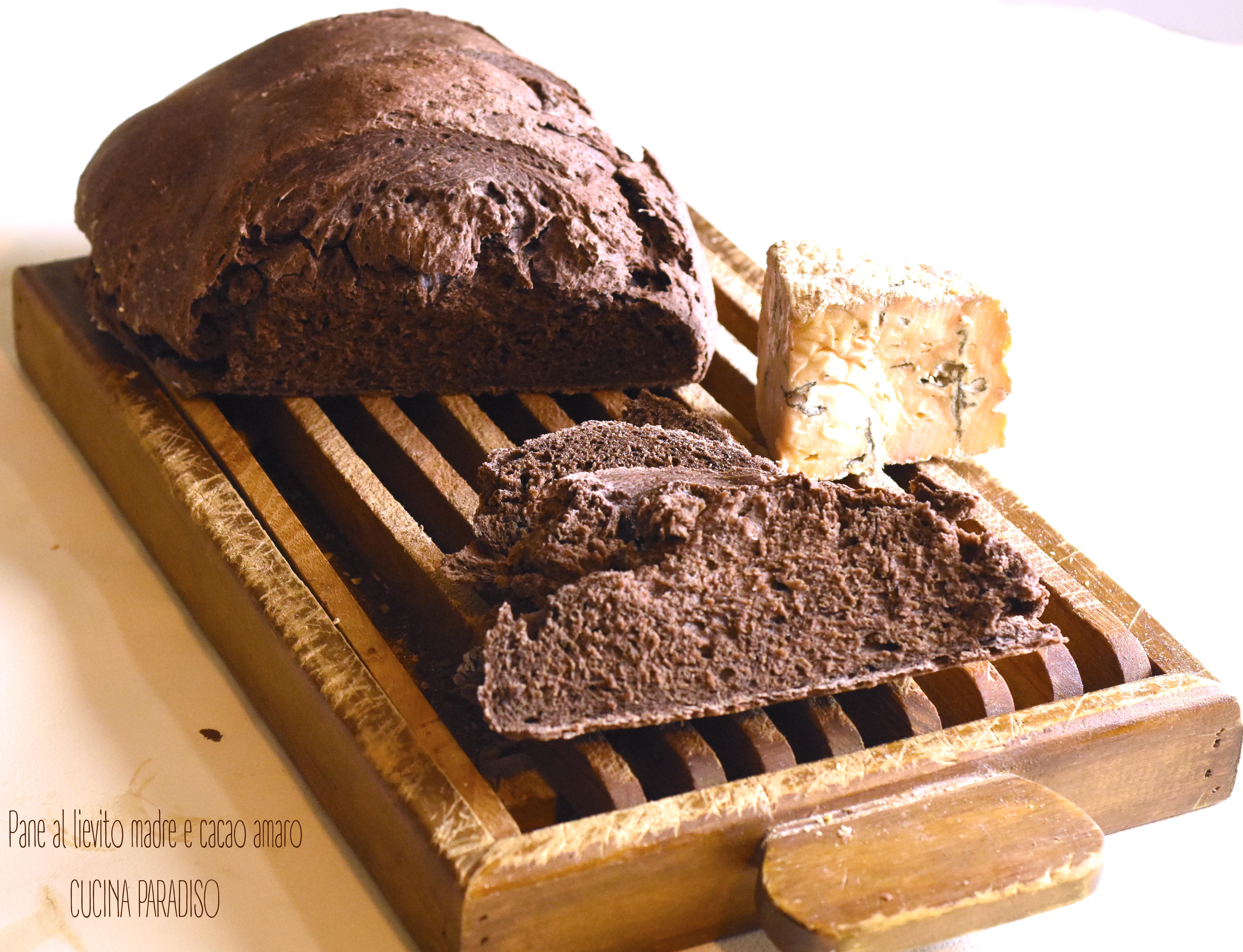Pane al lievito madre e cacao amaro3