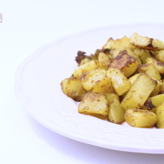 Patate spadellate al curry