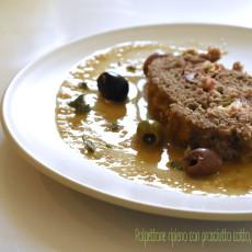Polpettone ripieno con prosciutto cotto, provolone e olive4